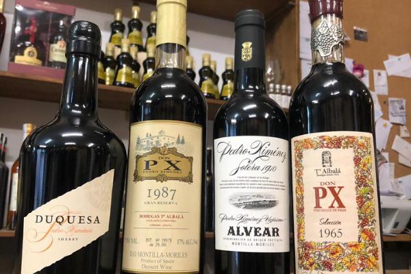 White Spanish grape varieties Sherry Pedro Ximinez
