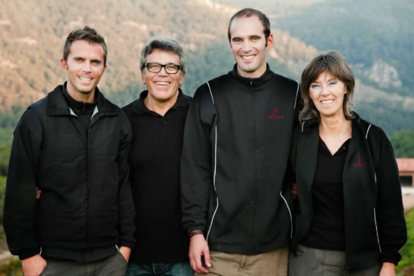 The family behind him. Interview the Winemaker Joan Ignasi Domènech Vinyes Domenech