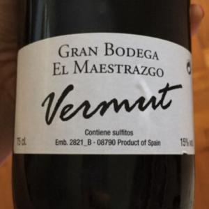 Bodega Maestrazgo House Vermouth