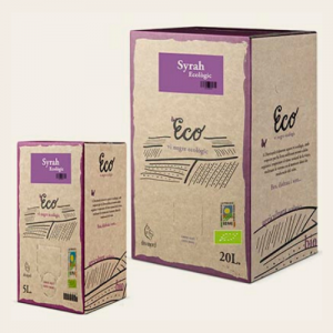 Disvinord Syrah Ecological Bag in Box - 3ltr