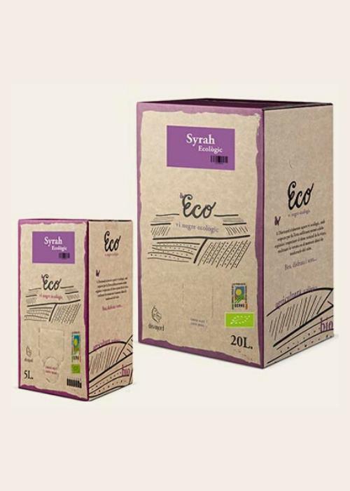 Disvinord Syrah Ecological Bag in Box - 3ltr