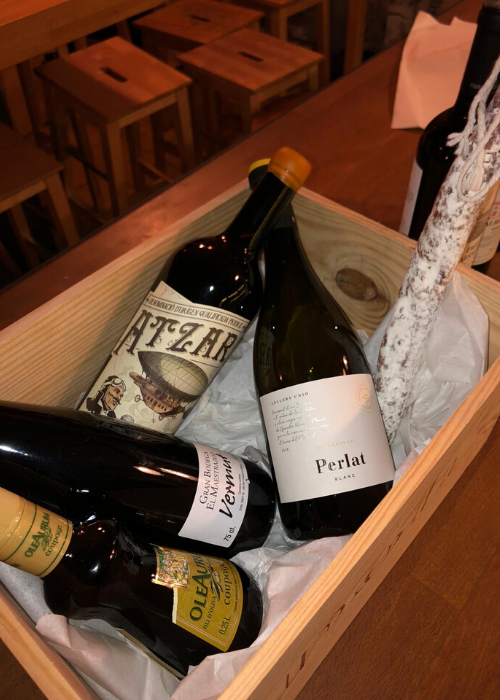 Bodega Maestrazgo Food and Wine Box