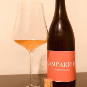 Lamparetes Garnatxa Roja Rose Natural Wine and Gabriel Glass