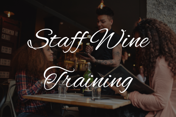 Staff Training Services Wine Bar and Restaurant Consultancy Services